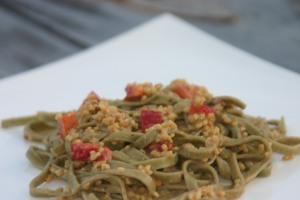 Vegan Millet Pasta Salad