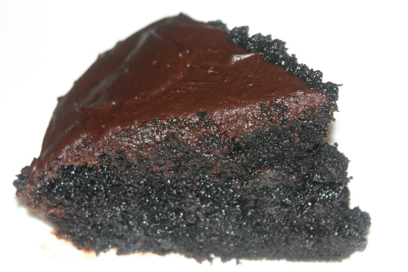 Vegan Chocolate Bourbon Caramel Cake with ChocolateGanache