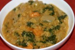 Vegan Red Lentil Coconut Curry Soup