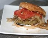 Vegan Millet Quinoa Bean Burger