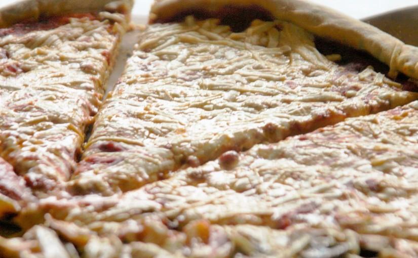 Vegan Pizza with HomemadeCrust