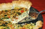 Vegetarian Quiche Without a Recipe