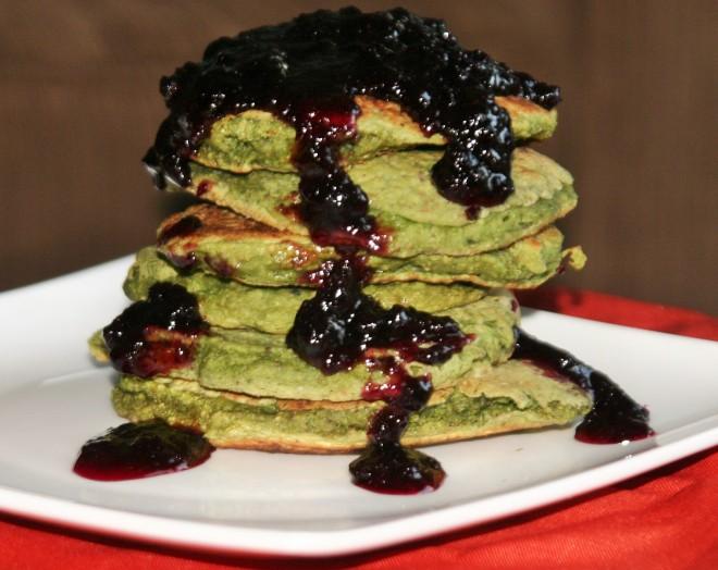 Vegan Halloween Pancakes