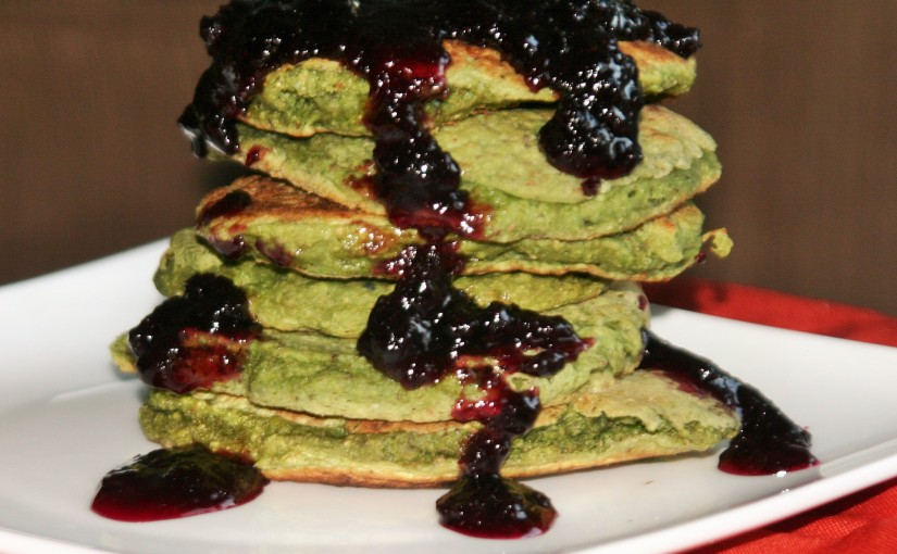 Halloween Pancakes (vegan, healthy, toddler friendly)