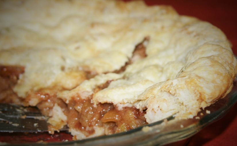 Mom's Apple Pie (vegan)