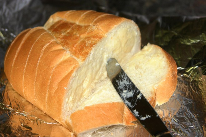 Slicing and buttering