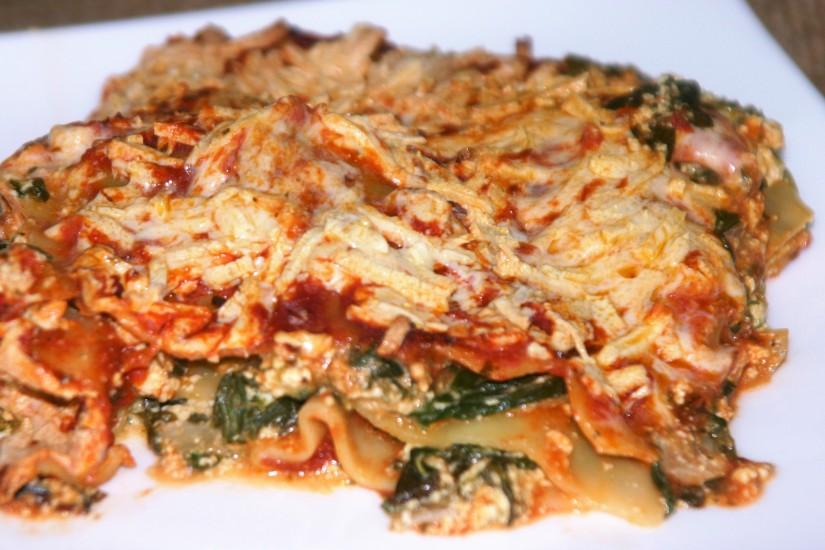 Mom's Lasagna (vegan and justperfect)