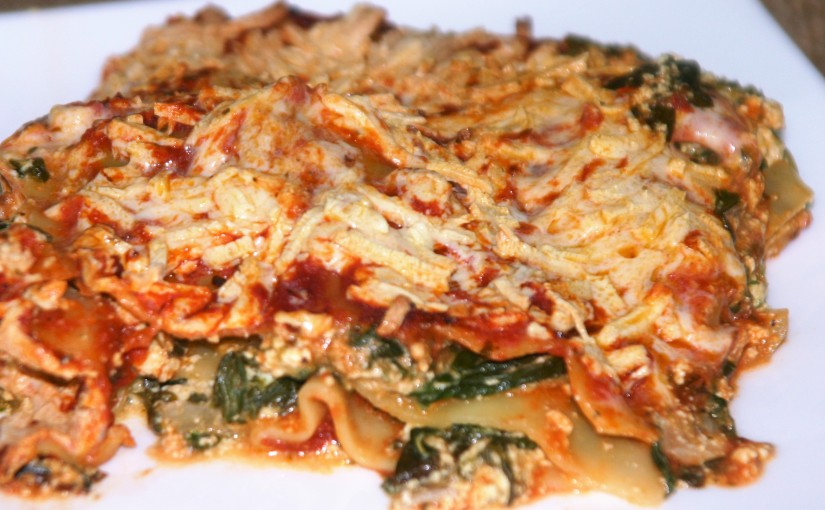 Mom's Lasagna (vegan and just perfect)