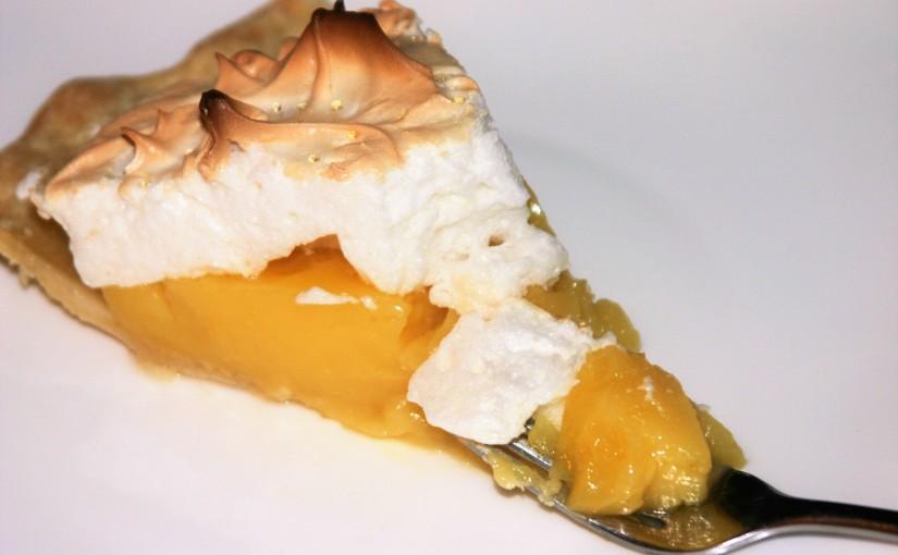 The Perfect Lemon Meringue Pie for Pi Day!