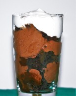 Aquafaba Chocolate Mousse Parfait