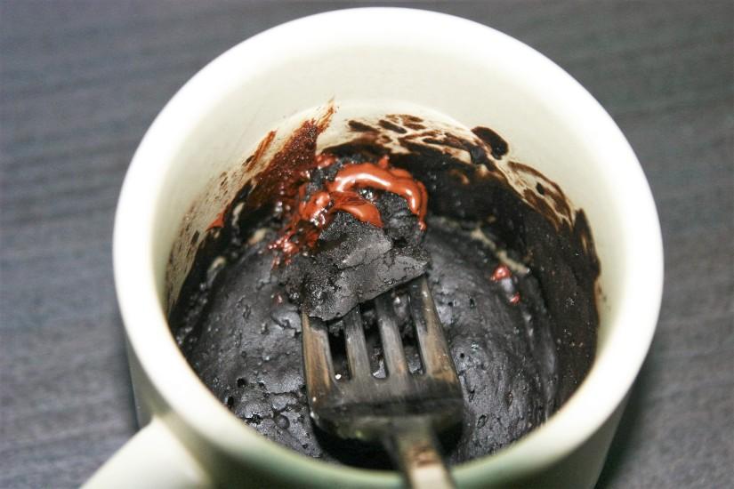Vegan Chocolate Microwave MugCake