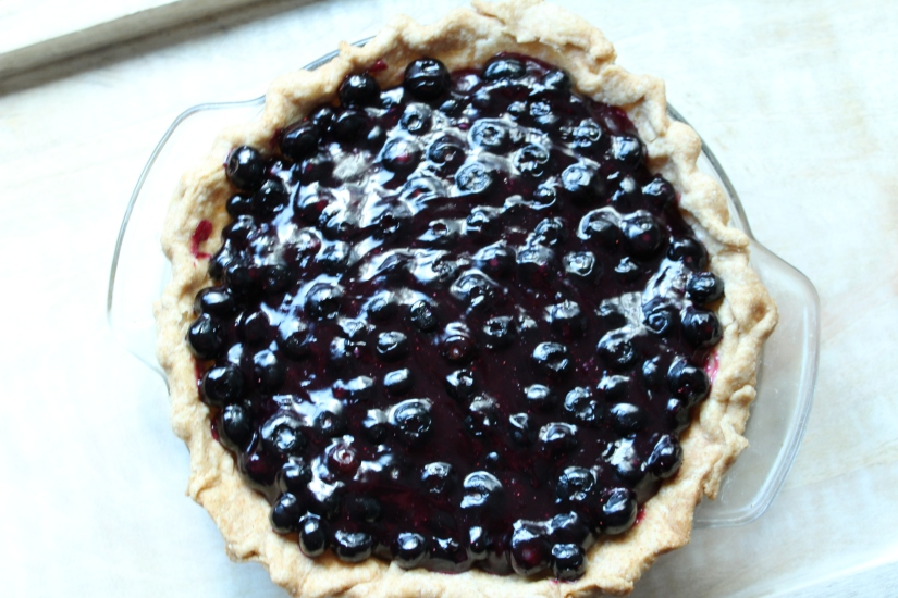 Fresh Blueberry Pie Vegan