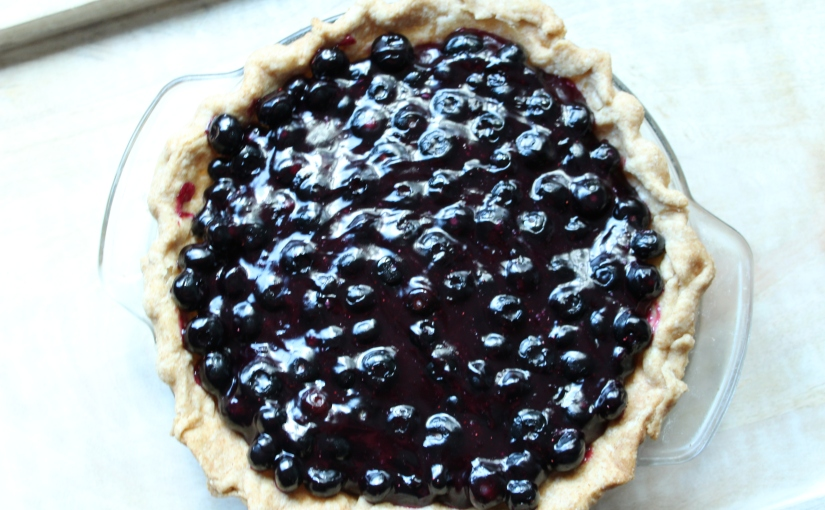 Fresh Blueberry Pie (Vegan)