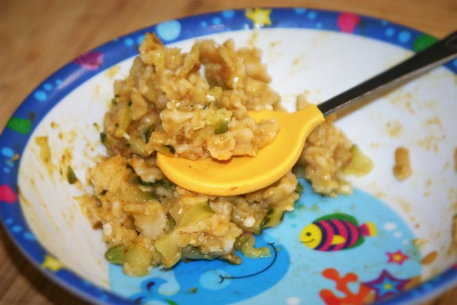 Pumpkin Zucchini Oatmeal