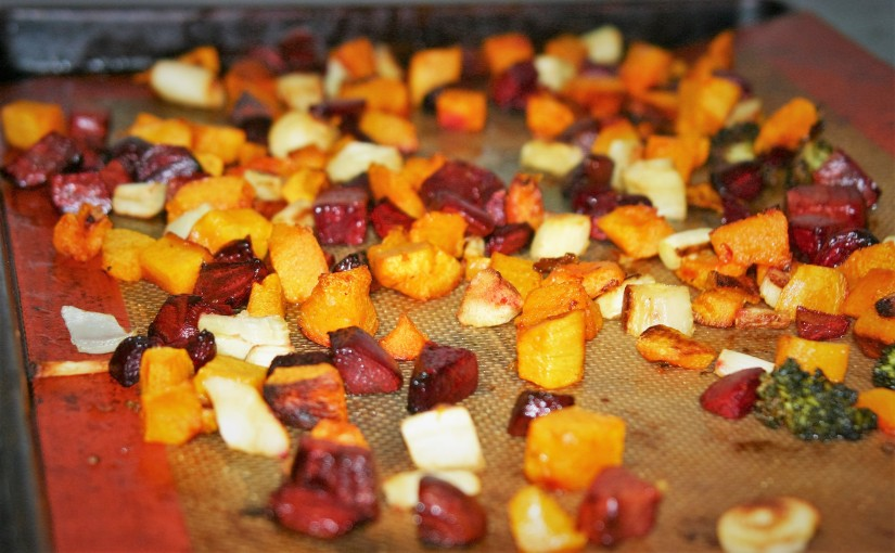Roasted Vegetables and Thanksgiving Suggestions