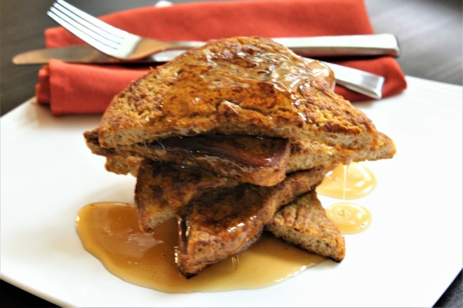 Pumpkin Spiced French Toast