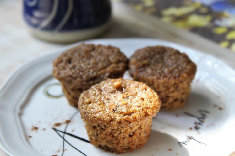 Gluten Free Pumpkin Spiced Muffins - Paleo, grain free, dairy free