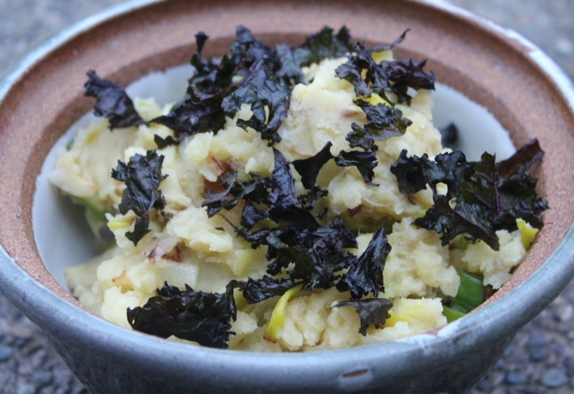Vegan Colcannon non-traditional