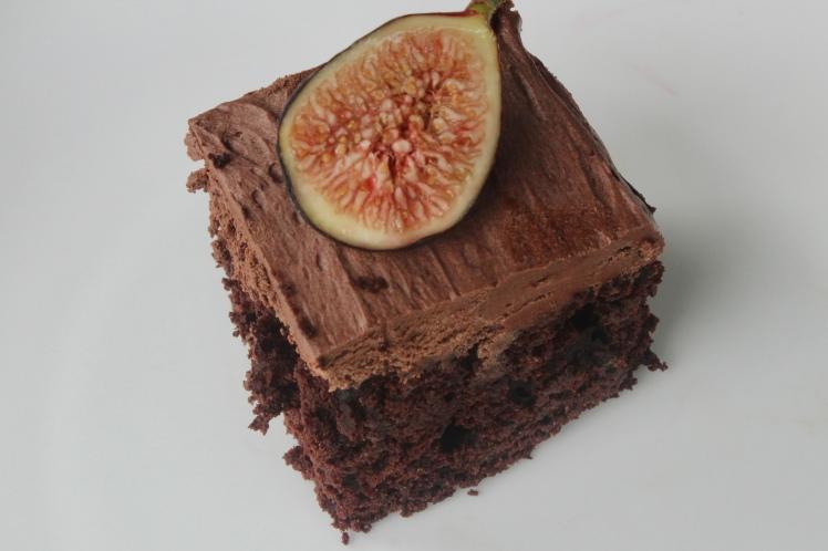 Vegan Chocolate Cake With Zucchini