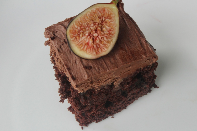 Chocolate Cake with Zucchini-Vegan